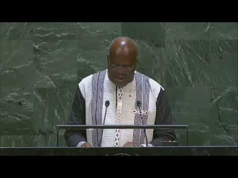 Asamblea General de la ONU | Burkina Faso pide una solución para el Sáhara Occidental de conformidad con la carta de la ONU (vídeo)