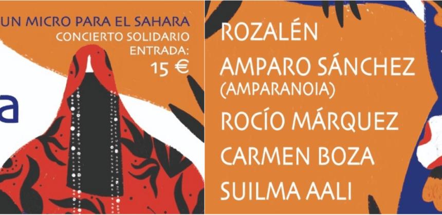 'Ellas por el Sáhara' reúne a cinco artistas en La Riviera para garantizar la información en territorios saharauis –diariosigloXXI