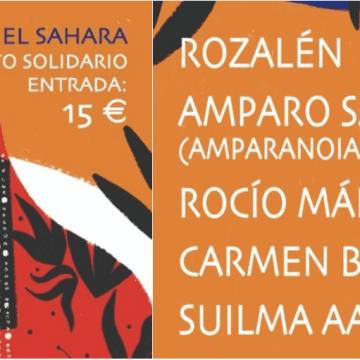 Rozalén, Amparo Sánchez (Amparanoia), Rocío Márquez, Carmen Boza y Suilma Aali se unen para ofrecer un concierto solidario con Un Micro para el Sáhara | Entradas aquí…