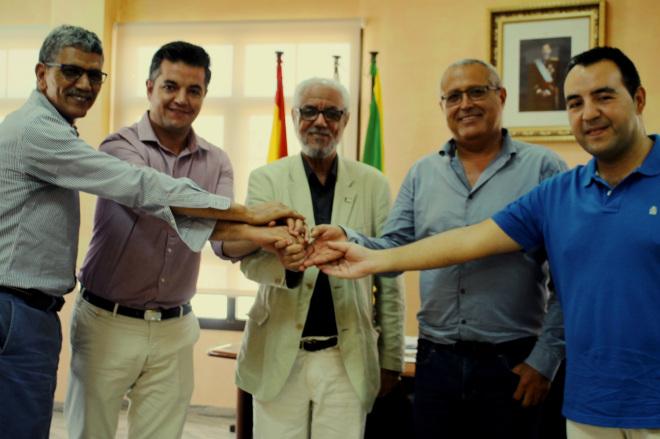 La Delegación Saharui en Canarias visita el Ayuntamiento de Antigua  | Diario de Fuerteventura