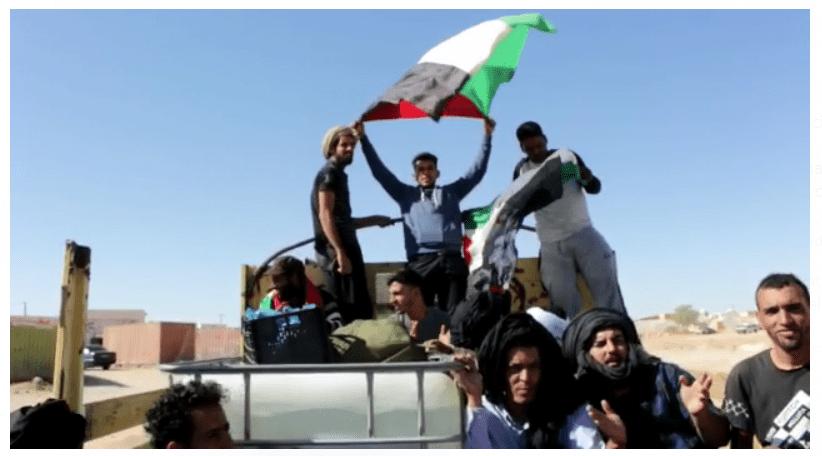 El 31 de octubre la Plataforma «Gritos contra el muro» grita ante el muro de la vergüenza: «la INDEPENDENCIA es la única solución para el pueblo saharaui»
