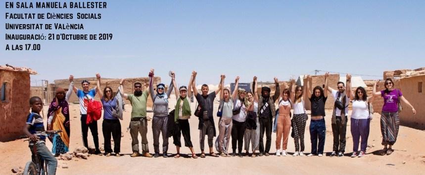 GVA.ES: El IVAJ y Jarit reúnen en una exposición las imágenes del campo intercultural de voluntariado juvenil en el Sahara