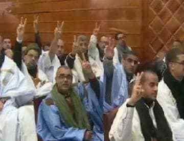 Les prisonniers politiques sahraouis de groupe de Gdeim Izik entament une grève de la faim   Sahara Press Service