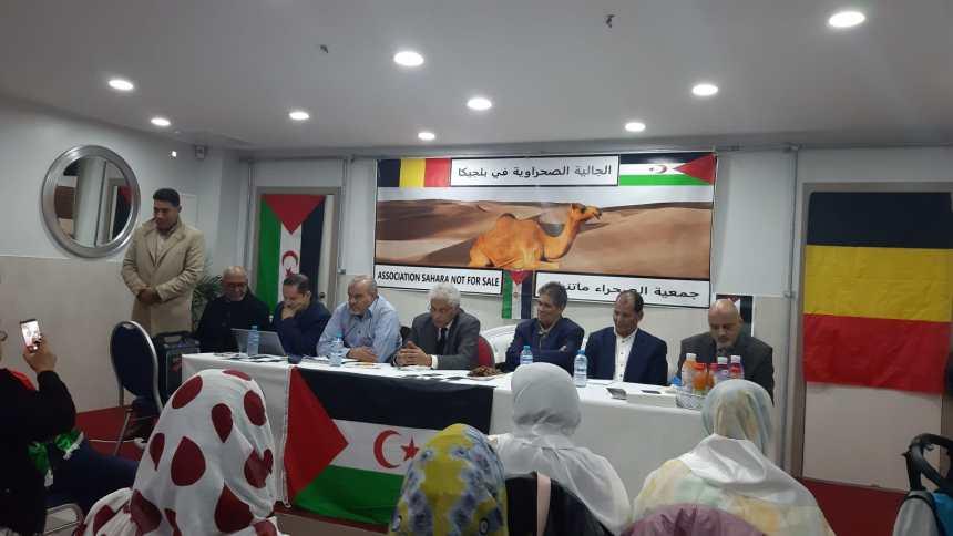 Ministro para Zonas Ocupadas y Diáspora preside reunión con presidentes de asociaciones saharauis en Bélgica | Sahara Press Service