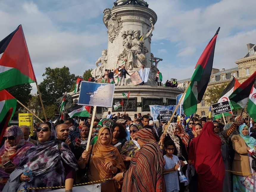 Manifestation de Paris: Rassemblenet pour le respect des droits du peuple sahraoui | Sahara Press Service