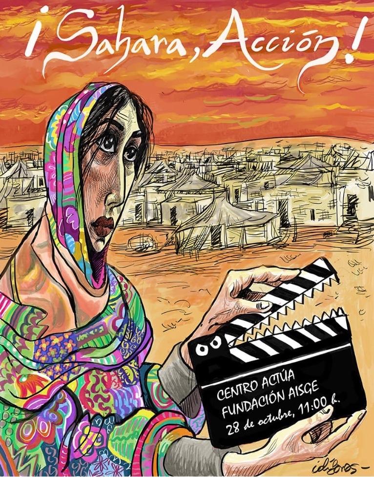El Centro Actúa programa una jornada imprescindible de solidaridad y difusión de la cultura saharaui | AISGE | Noticias