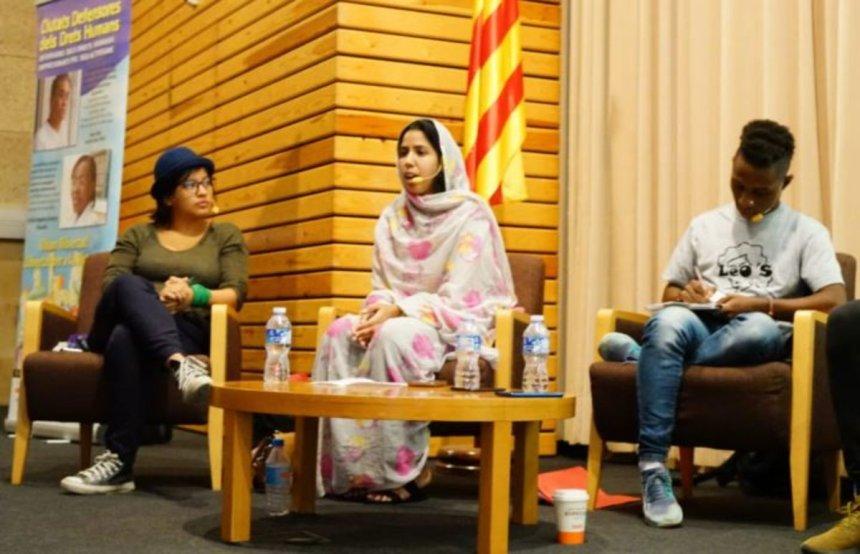 Esplugues recibe 3 activistas Mundiales por los derechos humanos en el marco de les 'Ciutats Defensores dels Drets Humans'
