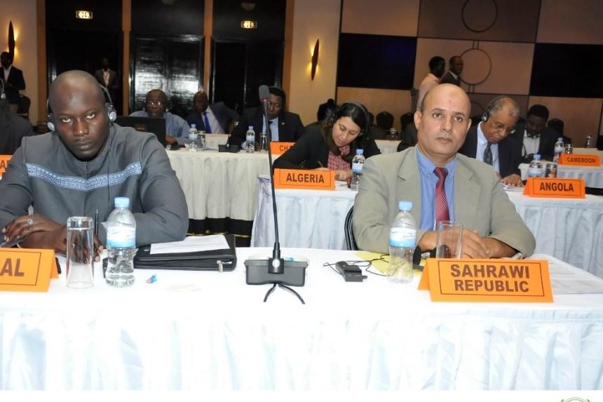 La RASD participa en la reunión de representantes permanentes de la UA sobre la lucha contra la corrupción   Sahara Press Service