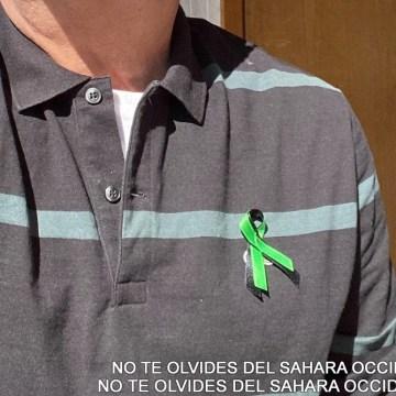 Ponte un lazo verde y negro por la libertad de los presos políticos saharauis