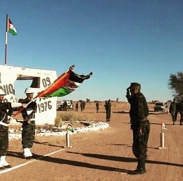 Ministro de Defensa saharaui recorre regiones militares del país y ordena a sus tropas la máxima alerta