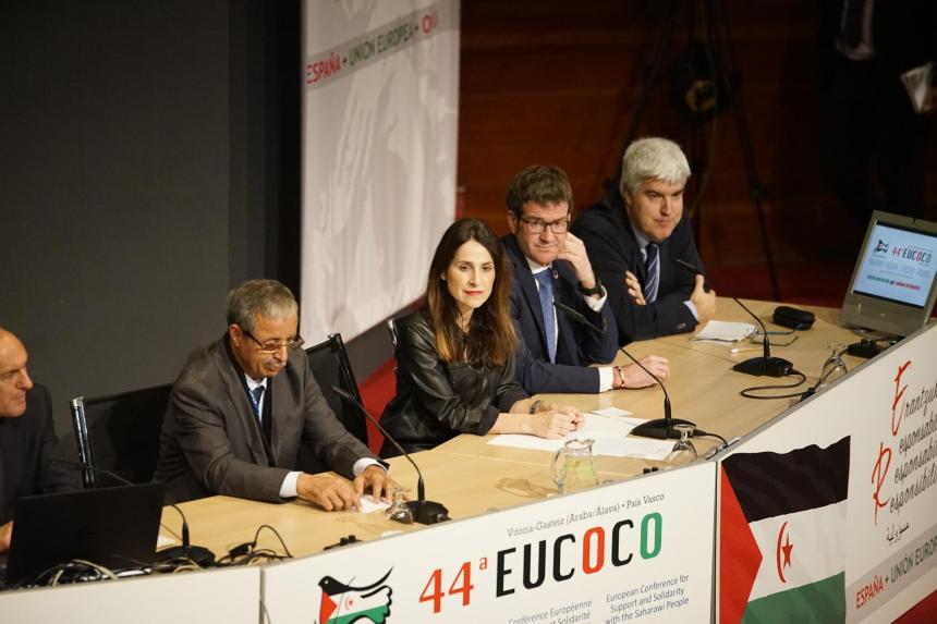 44th EUCOCO: 500 people in Vitoria-Gasteiz in support for Saharawi people | Sahara Press Service