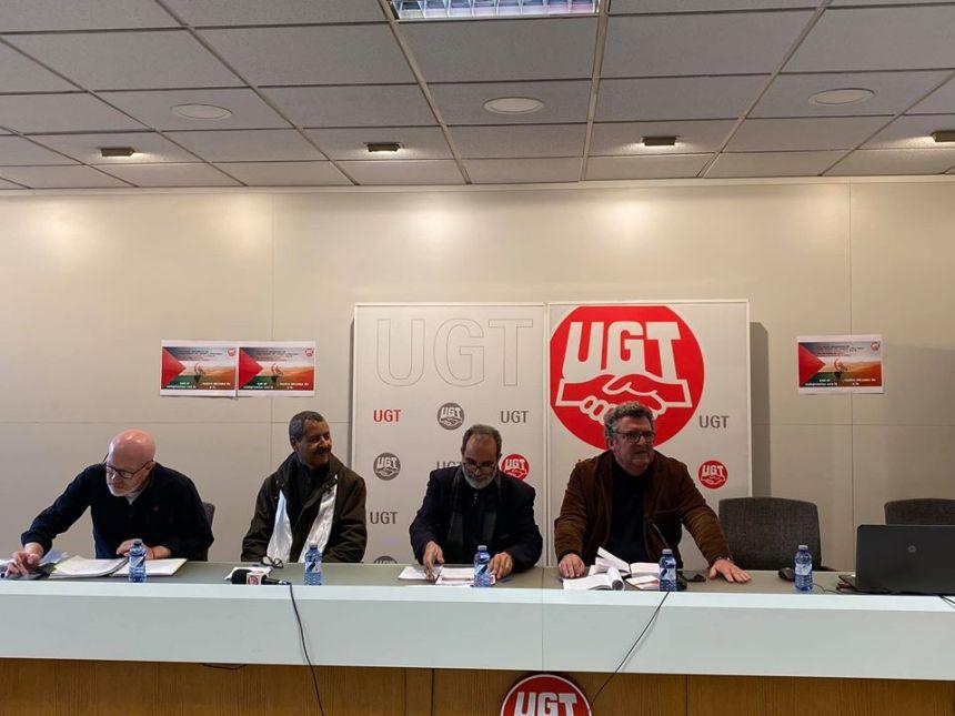 UGT anima a participar en la manifestación por un Sáhara Libre | UGT