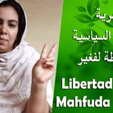 ESTEPONA: concentración pacífica por la libertad de la compañera Mahfuda Lafkir -19N
