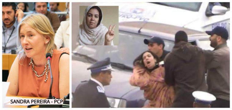 Eurodiputada del PCP pregunta a Morgherini sobre el arresto arbitrario de la activista saharaui Mahfouda Elfakir   PUSL