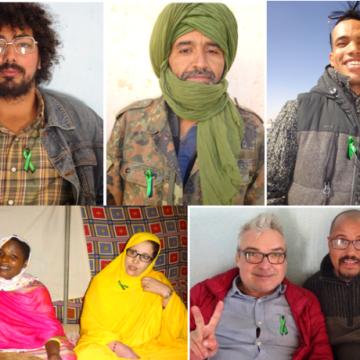 Un lazo por la libertad para los presos políticos saharauis | Contramutis