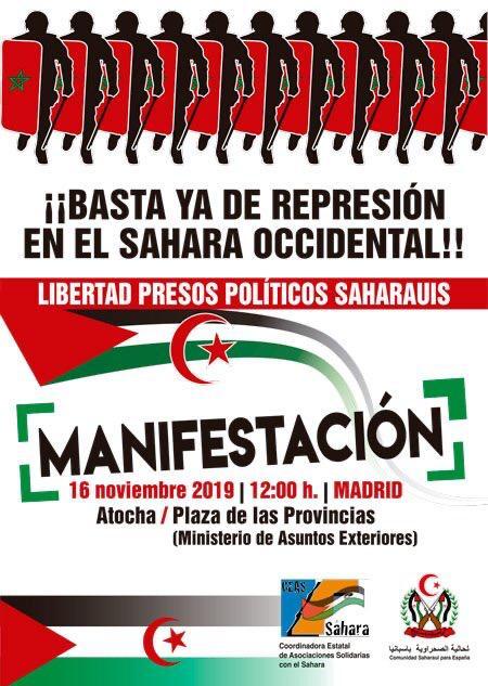 La Actualidad Saharaui: 15 de noviembre de 2019 (fin de jornada) 🇪🇭