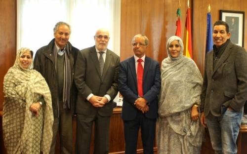 El delegado del Gobierno de España en el Pais Vasco, Jesus loza, ha señalado que la solución en el Sahara Occidental pasa por el cumplimiento de la legalidad internacional | Sahara Press Service