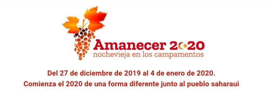 Comienza el 2020 de una forma diferente junto al pueblo saharaui | CEAS-Sahara (INFORMACIÓN SOBRE AMANECER 2020)