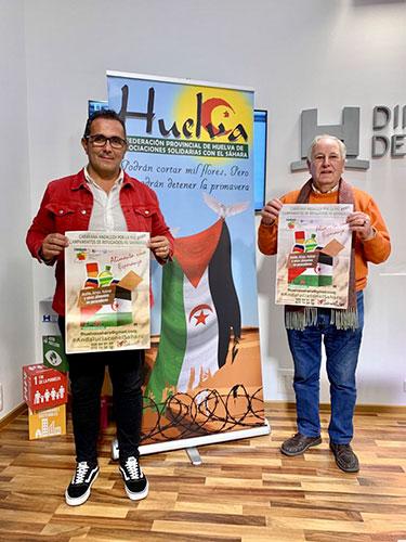 Vuelve 'Caravana por la paz' con el objetivo de recaudar 50.000 kilos de ayuda humanitaria para el Sahara | Huelva24