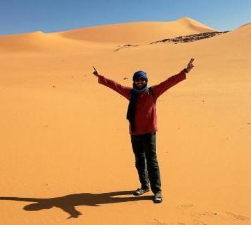 «En la soledad del desierto se viven momentos especiales»
