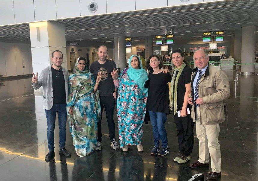 Equipe media: Declaraciones de la delegación vasca expulsada del Sáhara Occidental por las autoridades de ocupación marroquíes