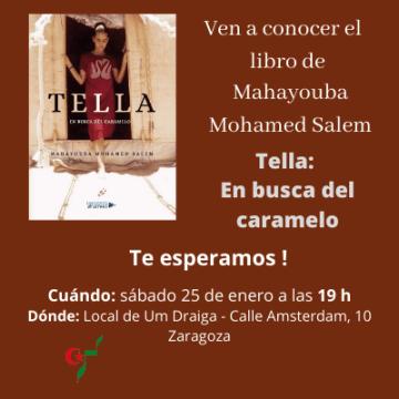 Presentación del libro: TELLA, En busca del caramelo – Um Draiga