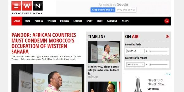 PANDOR: AFRICAN COUNTRIES MUST CONDEMN MOROCCO'S OCCUPATION OF WESTERN SAHARA | SADR Embassy in Botswana