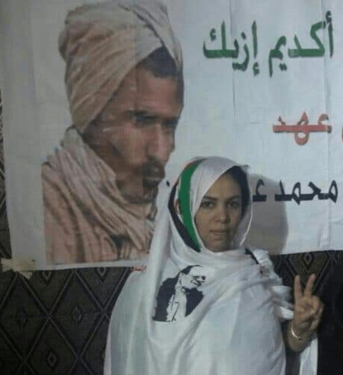 """""""Justicia marroquí"""" ratifica condena de 6 meses de prisión a la activista saharaui Mahfouda Lefkir"""