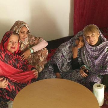 Aragoneses en el Sáhara: «Aquí está todo muy tranquilo, hay mucha seguridad»