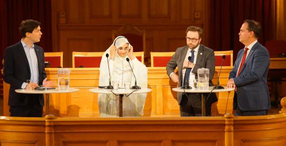 "Aminatou to Swedish Parliament: ""Your decision to recognize SADR delighted us, but failing to implement it was regrettable"" 