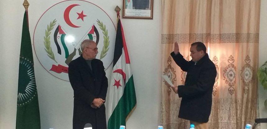 Los 35 ministros del nuevo Gobierno juran o prometen su cargo ante el presidente saharaui