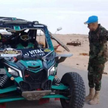 ECS en El Guerguerat: La MINURSO facilita la salida del Rally ejerciendo de Policía de tráfico