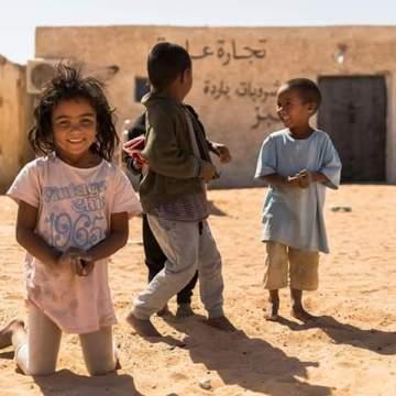 Acoge una sonrisa saharaui