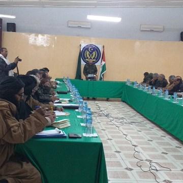 El Presidente de la República preside una reunión del Secretariado Nacional del Frente Polisario | Sahara Press Service