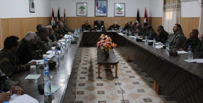 El Presidente de la República y Jefe de las Fuerzas Armadas preside una reunión del Estado Mayor del Ejército de Liberación Popular Saharaui   Sahara Press Service