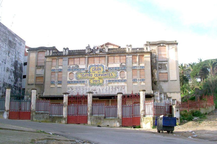 La donación a Marruecos del Teatro Cervantes de Tánger, remitida a Cortes
