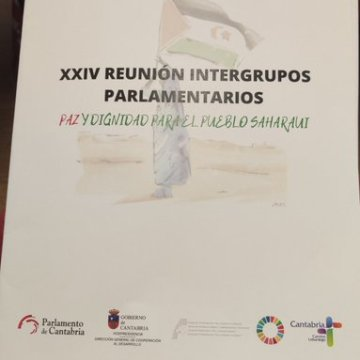 🏛 XXIV Congreso Intergrupos Parlamentarios «Paz y Libertad para el Pueblo Saharaui» 🏛