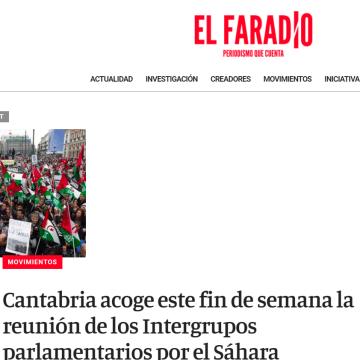 Cantabria acoge este fin de semana la reunión de los Intergrupos parlamentarios por el Sáhara – El Faradio