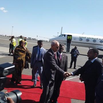 Le président de la République arrive à Addis-Abeba pour prendre part au 33e sommet des chefs d'État et de gouvernements de l'UA | Sahara Press Service