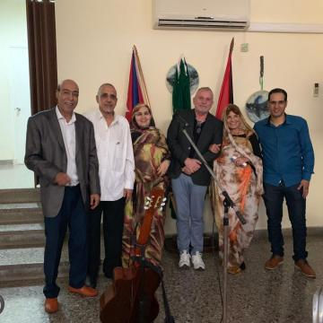Kick-off of Spanish educational film festival at the Sahrawi Embassy in Havana | Sahara Press Service