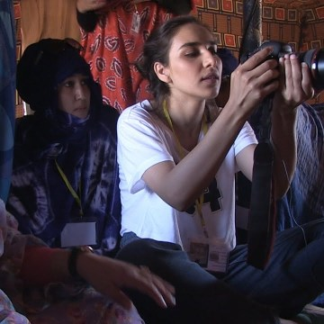 Occupied: A Palestinian Filmmaker Teaches Documentary to Western Saharan Refugees – Journeyman Pictures