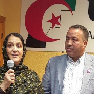 Despedida a Sidahmed Darbal como delegado saharaui en Aragón