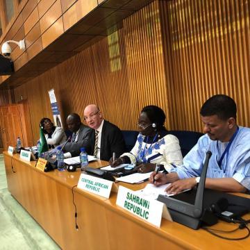 La República Saharaui expone en la UA su experiencia en el campo de la igualdad en la educación y el empoderamiento de las mujeres