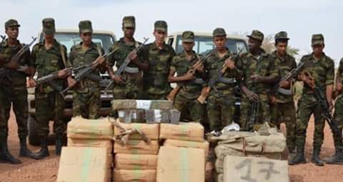 El ejército saharaui detiene a 4 narcotraficantes e incauta 3.600 kilogramos de hachís en las zonas liberadas de la RASD   Sahara Press Service