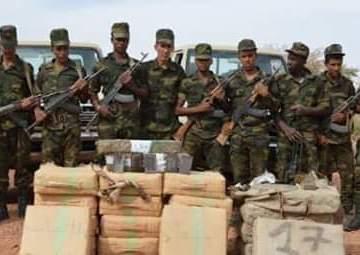 El ejército saharaui detiene a 4 narcotraficantes e incauta 3.600 kilogramos de hachís en las zonas liberadas de la RASD | Sahara Press Service