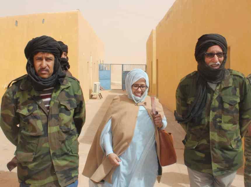 Presidente de la República visita instalaciones creadas para la cuarentena preventiva contra el Coronavirus COVID19 | Sahara Press Service