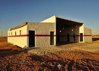 Un parque coruñés en el campamento saharaui de Smara que salvará vidas