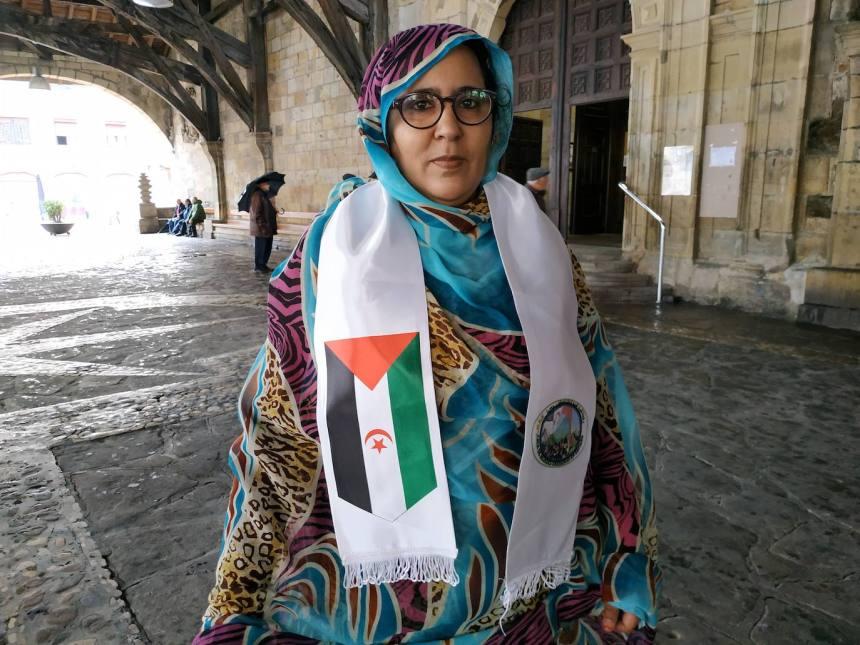 «La mujer vasca es como la saharaui, fuerte y empoderada» | El Correo