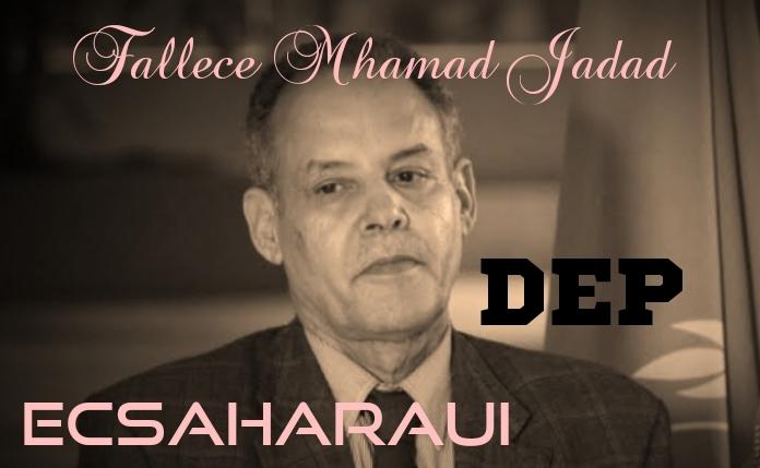 República saharaui declara una semana de luto oficial por la muerte de Mhamad Jadad