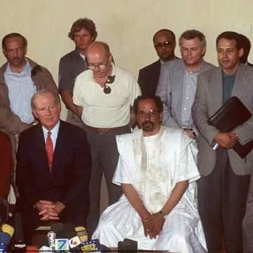 James Baker traslada al pueblo saharaui sus condolencias por el fallecimiento de Mhamad Jadad